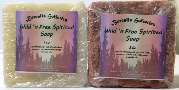 Wild & Free Spirited Soap Patchouli Sweet Orange