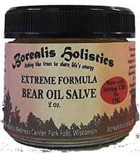Extreme Formula Bear Oil Salve with CBD