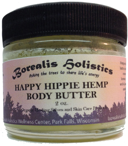 Happy Hippie Hemp Body Butter 2 oz.