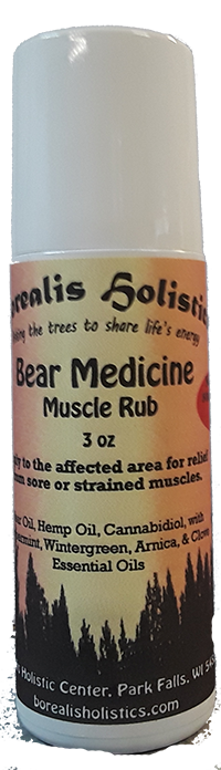 Bear Medicine Muscle Rub with CBD